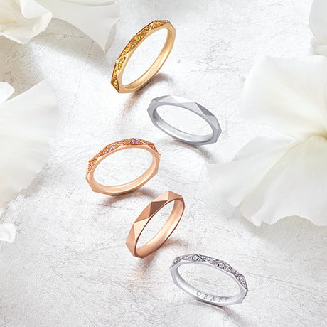 The Laurence Graff Signature Wedding Bands