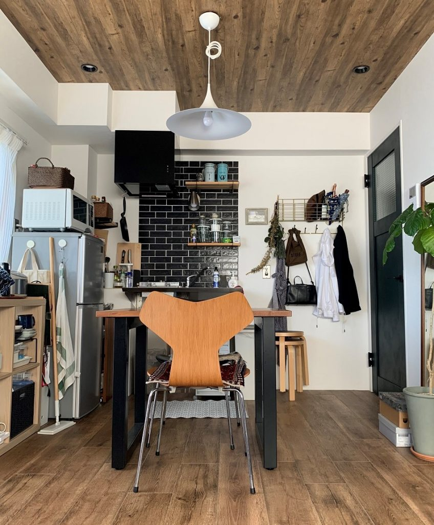 「キッチンは明るく開放的な雰囲