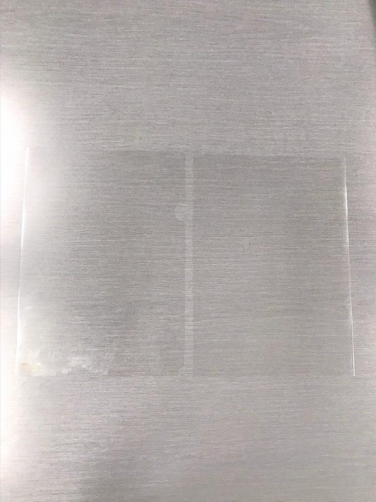 ●A4のなるべく透明なクリアフ