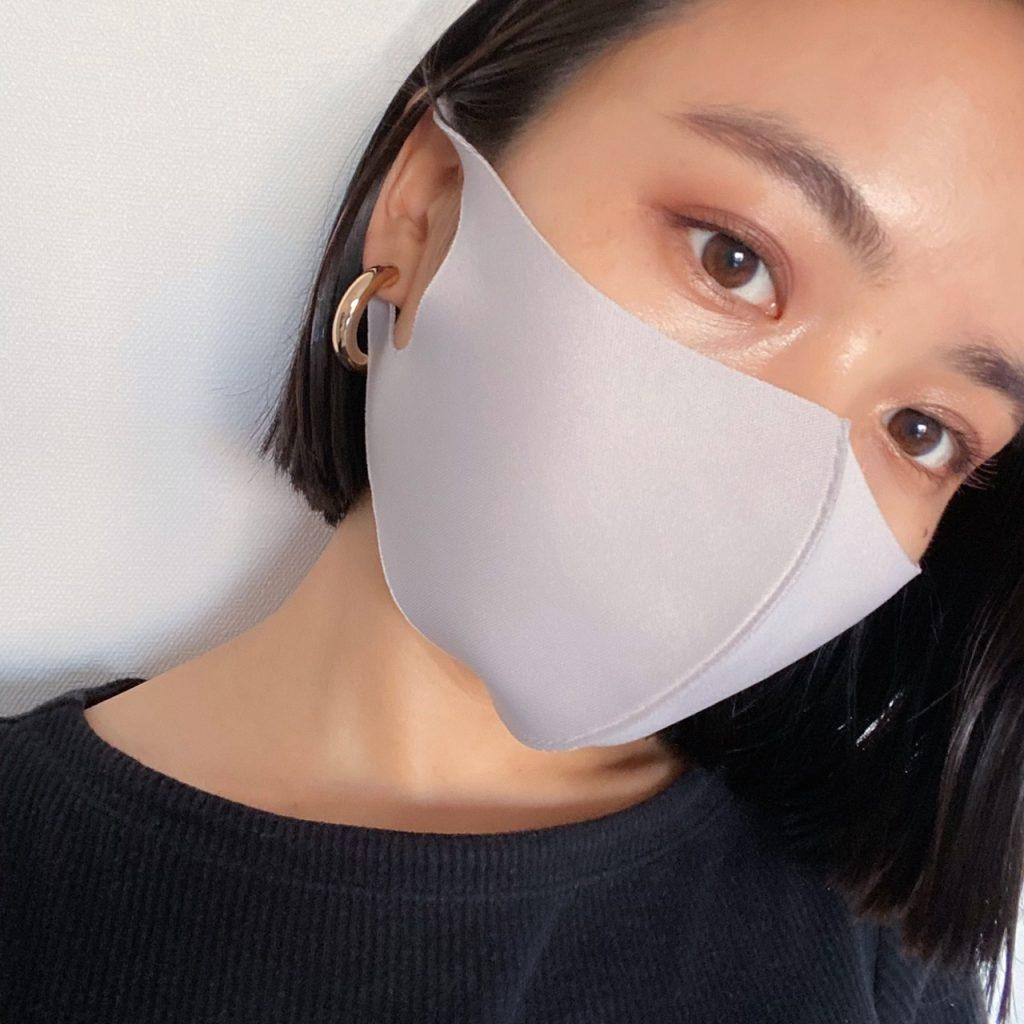 マスクをつけても、目元だけでも