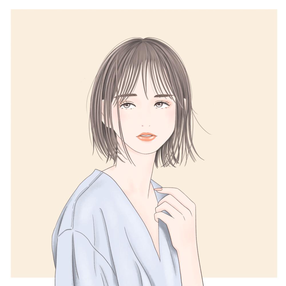 「素髪に見せる時ほど、繊細に仕