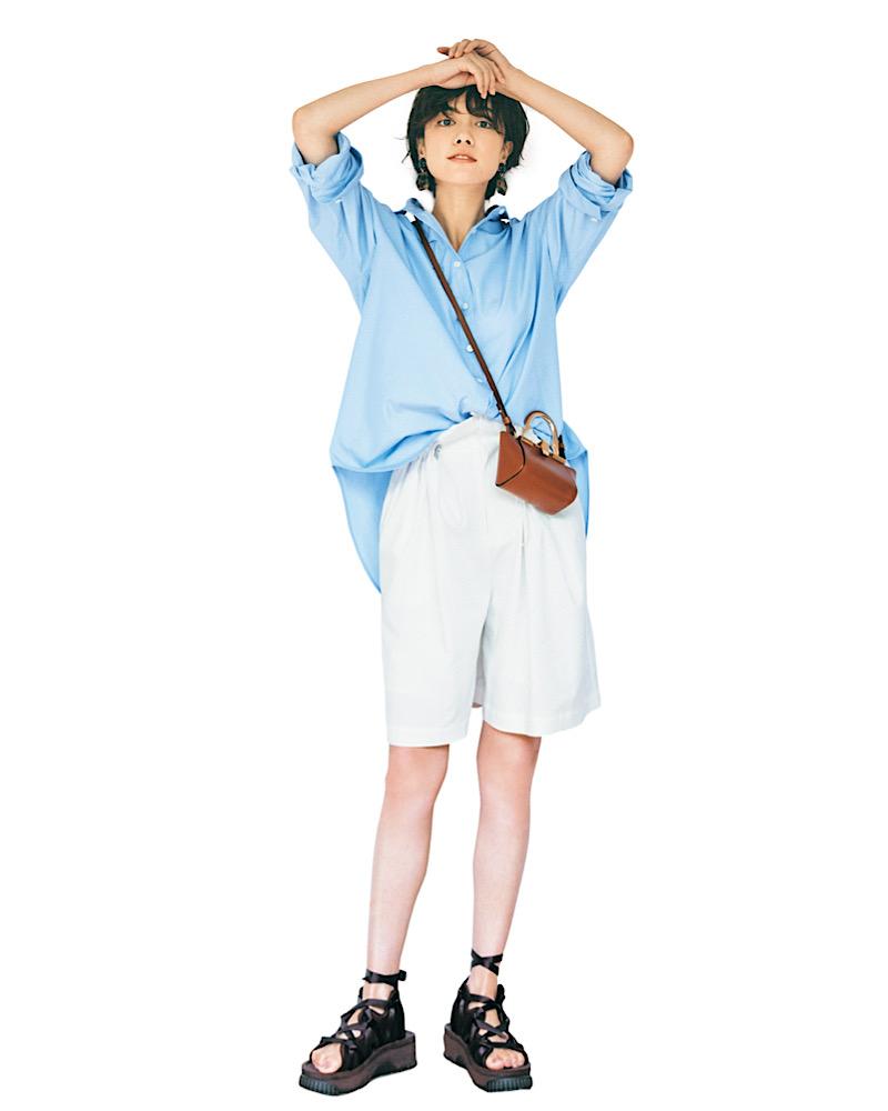 【今日の服装】残暑も涼しげなシャツコーデって?【アラサー女子】