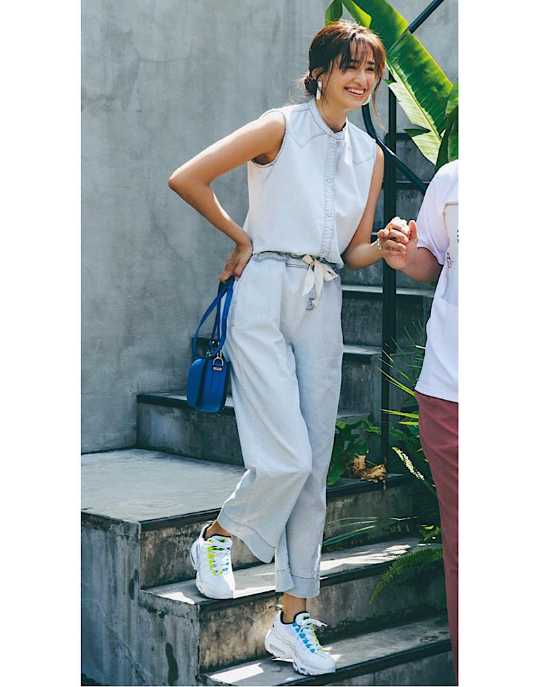【今日の服装】脚長に見えるスニーカーのコーデって?【アラサー女子】