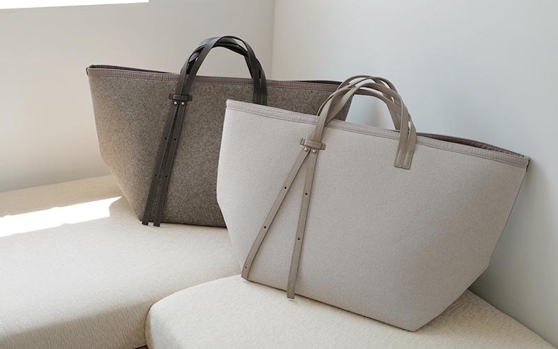 大容量で軽量!持ち手の長さが変えられるオシャレな2wayバッグを発見!【H.V.F.N】