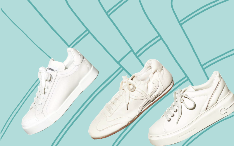 絶対に損しない 「人気ブランドの白スニーカー」カタログ【レザー素材3選】