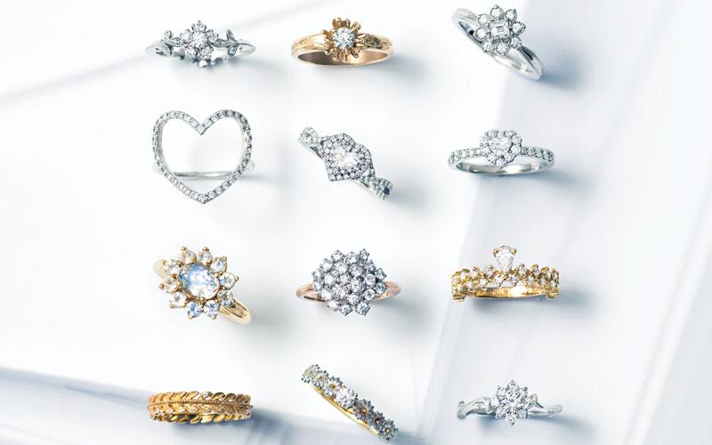 アラサー女子におすすめの結婚指輪36選【❸デザイン&モチーフ編】