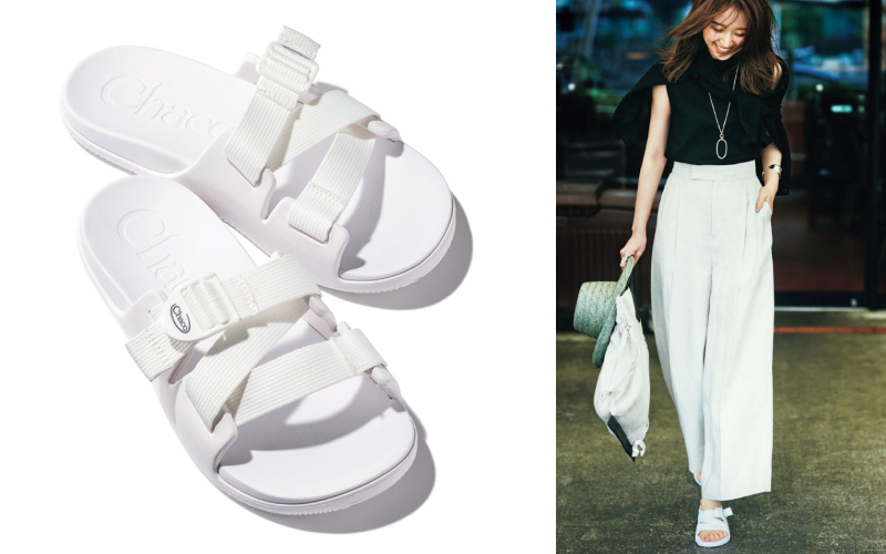 脚が短く見えないサンダルの色は…「白」の理由【アラサー女子の着こなしポイント】