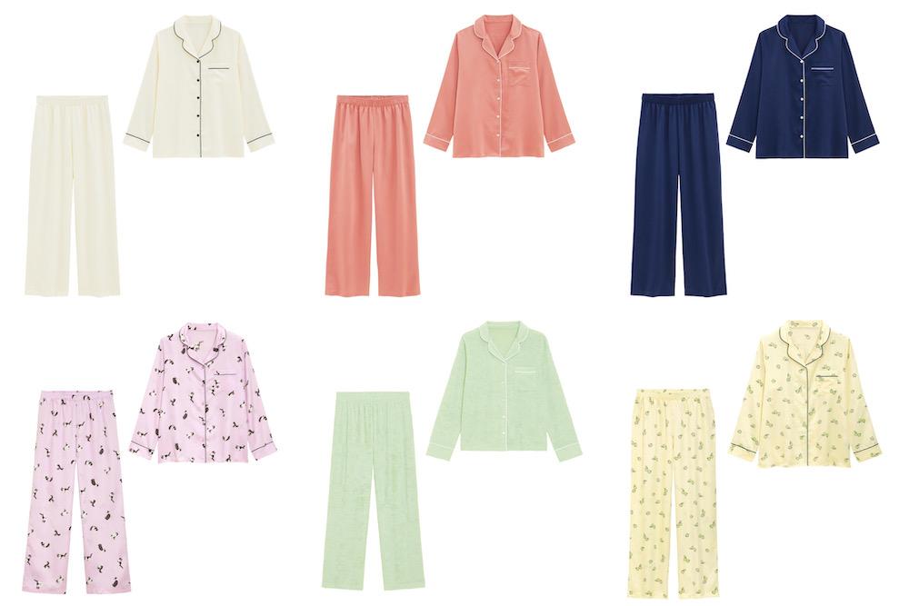 【1,990 円】GUの新作パジャマが可愛い!秋のおうち時間に最適【全6色】