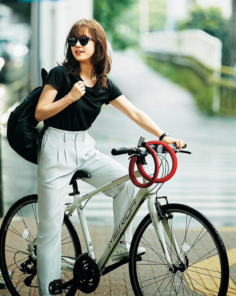 自転車が生活の中で新しい習慣になった 通勤は電車をやめて自転車に乗っています