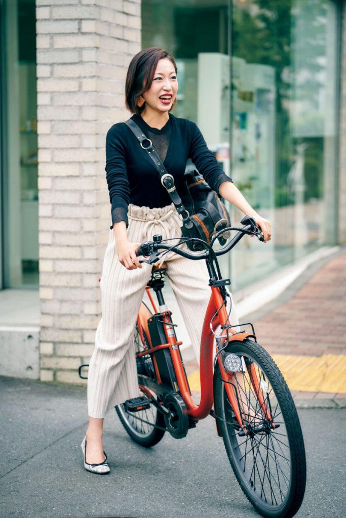 実際に自転車に乗る時ってどんな