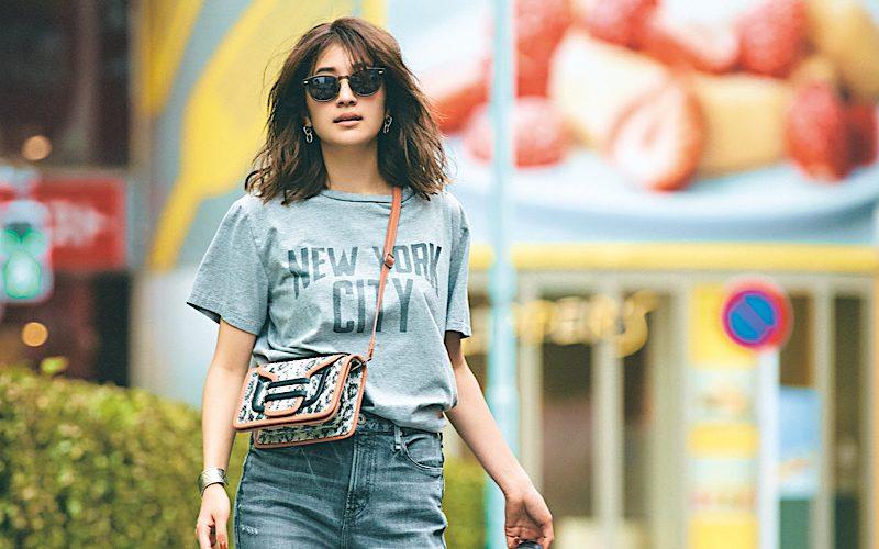 【今日の服装】秋口でもオシャレな「Tシャツ×デニム」コーデって?【アラサー女子】