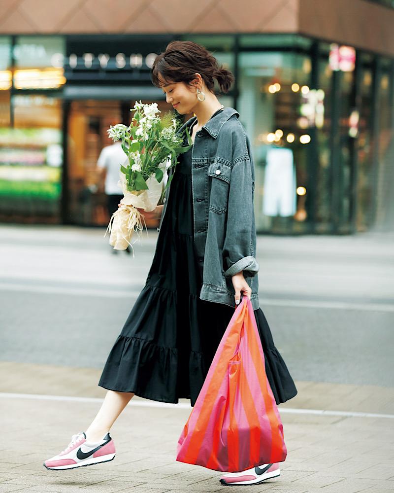 【今日の服装】オシャレな「エコバッグ」コーデとは?【アラサー女子】