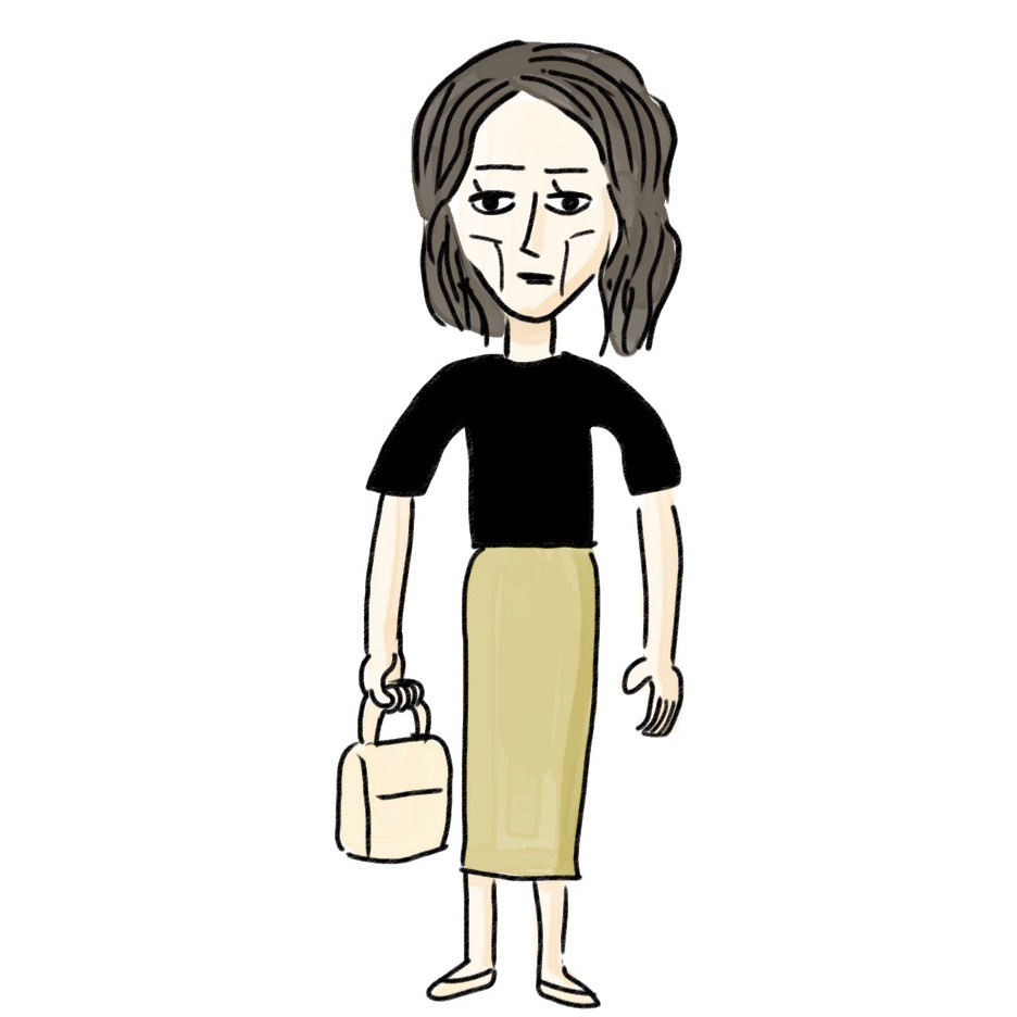 アラサーのあるあるNGコーデ図鑑❾「Tシャツコーデが貧相に見える」