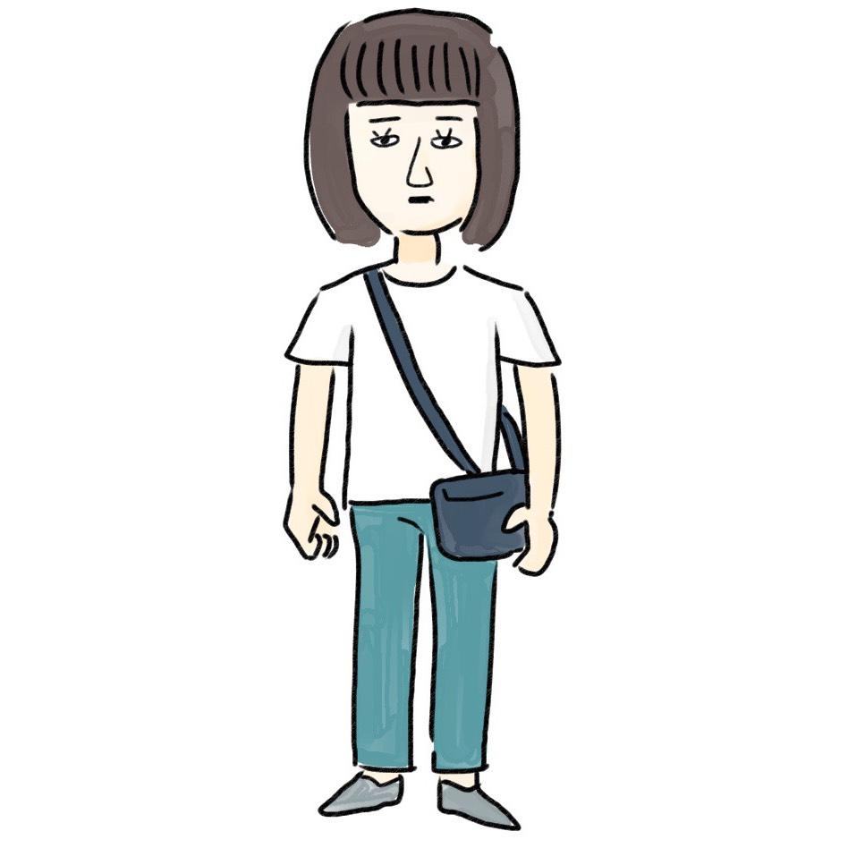 アラサーのあるあるNGコーデ図鑑➓「Tシャツコーデが普通すぎる」