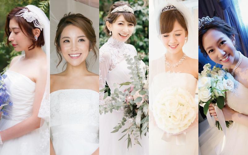 美人花嫁のウェディングドレスコーデ5選