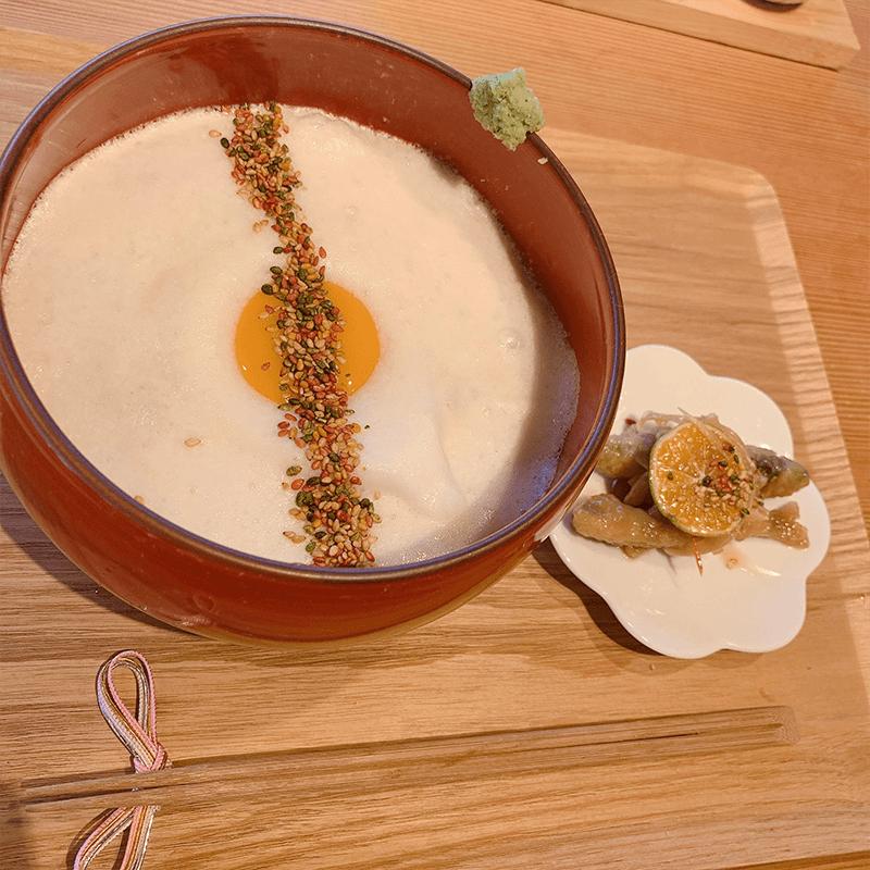 休日はだいたい友人と京都でお蕎麦を食べています😊@あふひ