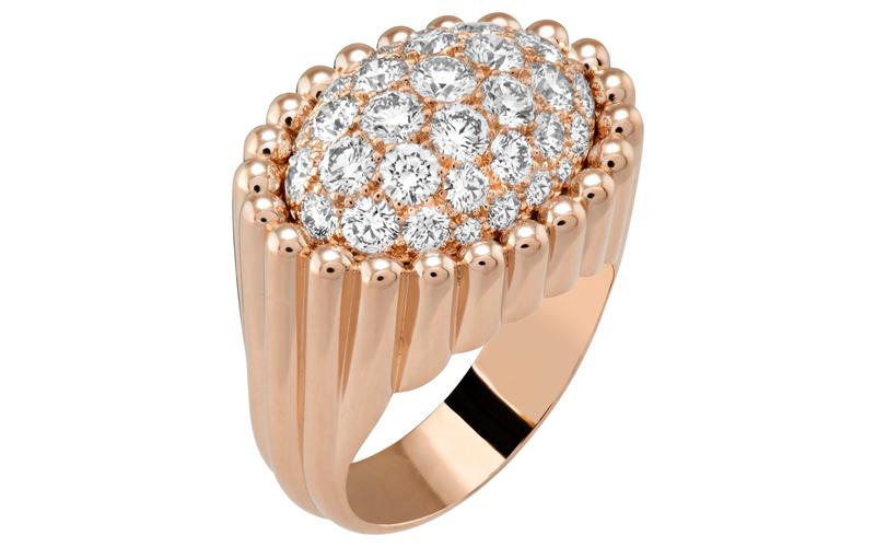 ヴァン クリーフ&アーペルの最新ジュエリーは長く愛したいダイヤモンド輝くボリュームリング