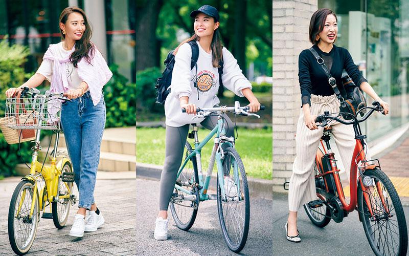 東京・自転車オシャレ美女SNAP3選【新しい生活様式で人気上昇中!】
