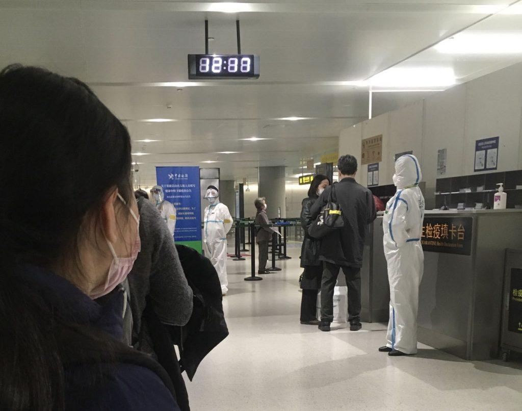 日本に一時帰国しており3月初め