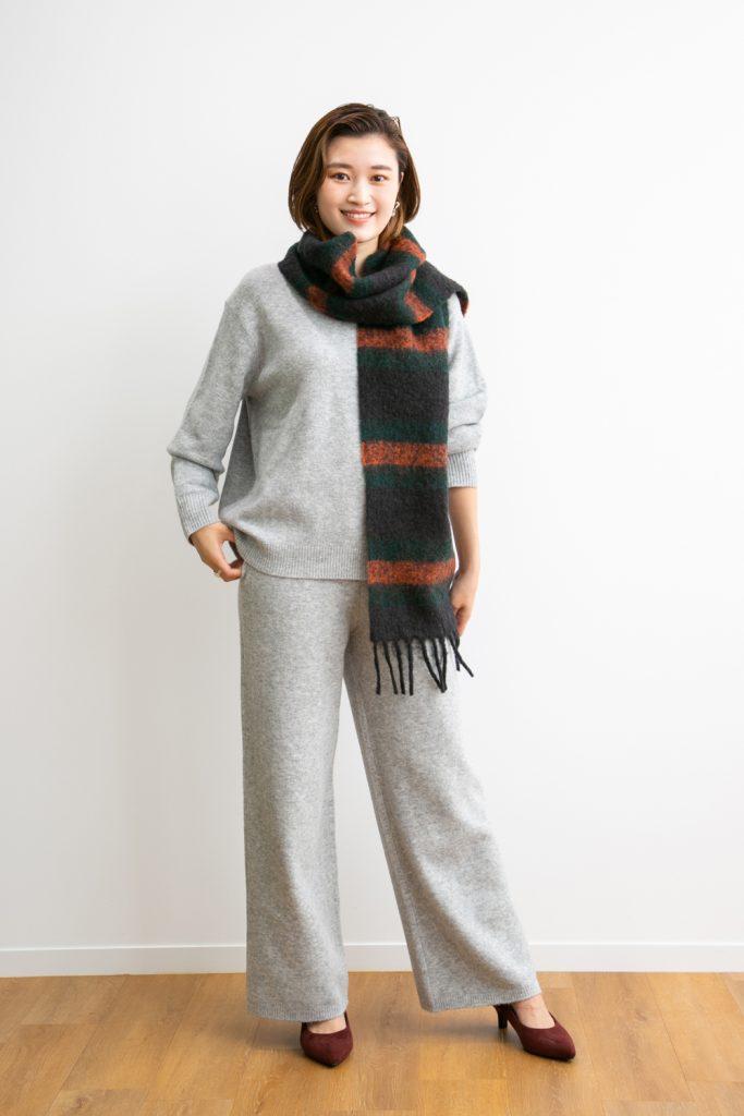 【ニット】 ざっくりした編み目