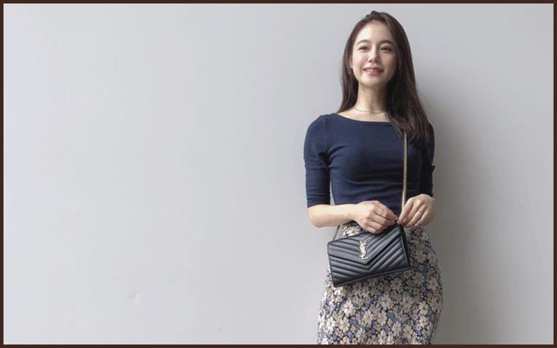 【ZARAで購入】花柄スカートが主役のプチプラ秋コーデ