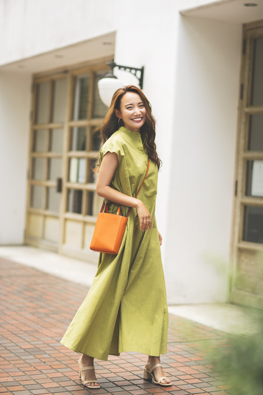 【夏の思い出】オシャレなアラサー美女5名のカラーワンピコーデSNAP