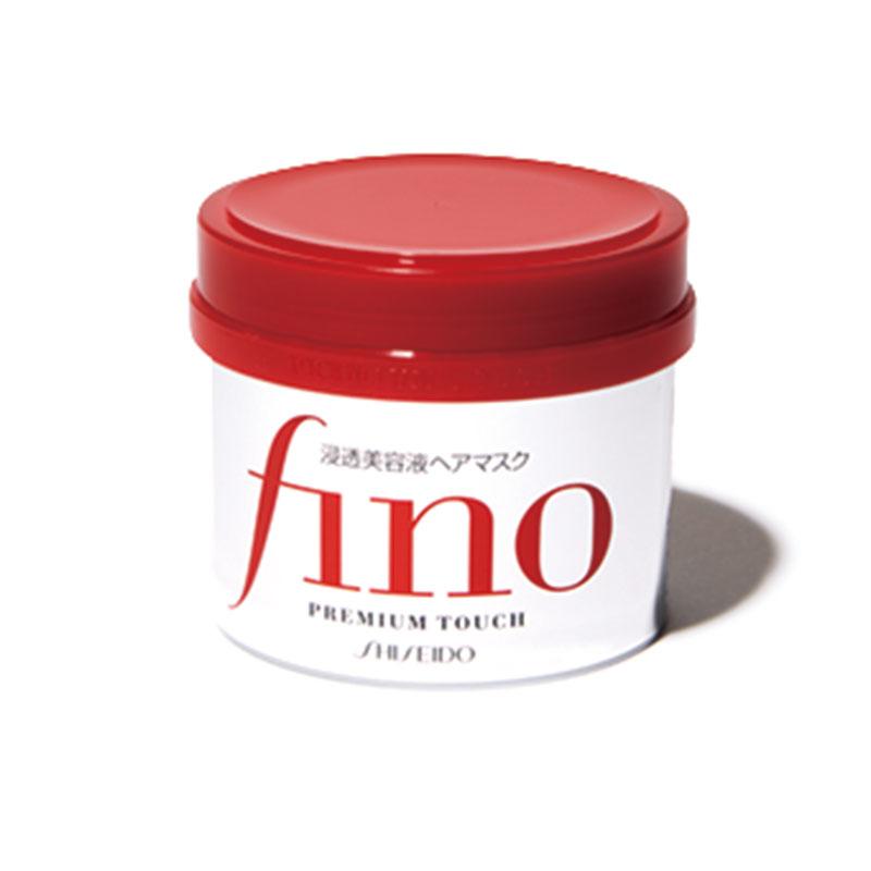 フィーノのヘアマスク ヘアにとろけるようになじみ、傷んだ毛先もツルツルに。フィーノ プレミアムタッチ浸透美容液ヘアマスク オープン価格(資生堂)