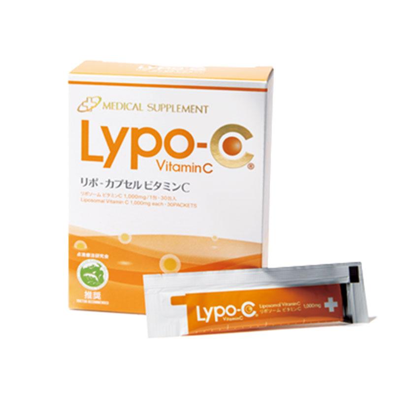 リポ・カプセル ビタミンC ビタミンCを効率よく摂取可能。美容関係者にも愛飲者の多いビタミンCサプリの王様。リポ・カプセル ビタミンC(30包入り)¥7,200(SPIC)
