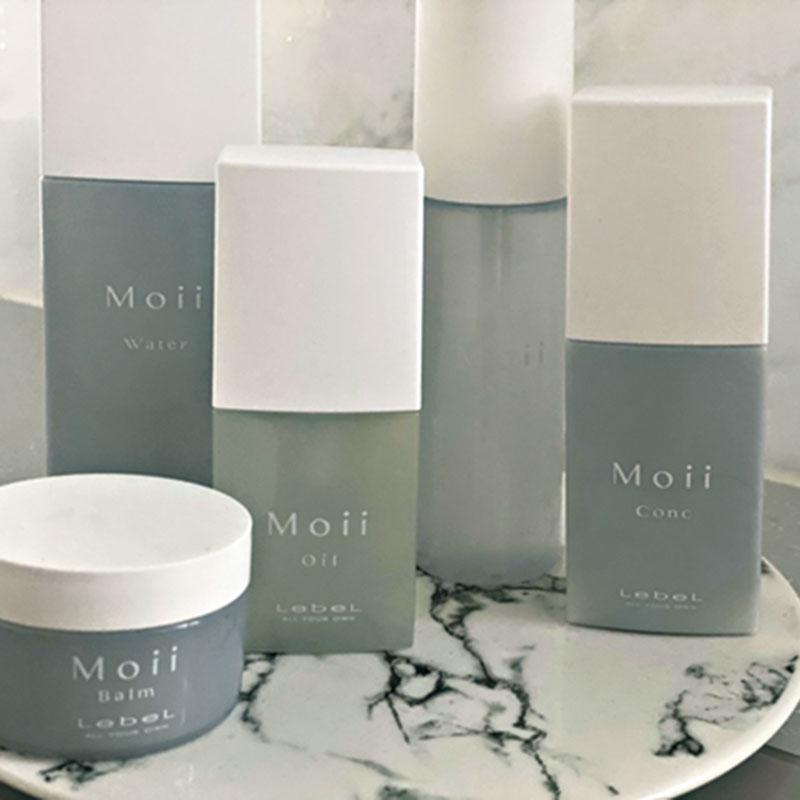 Moiiのスタイリング剤はどれも使いやすいので、全アイテム揃えています。