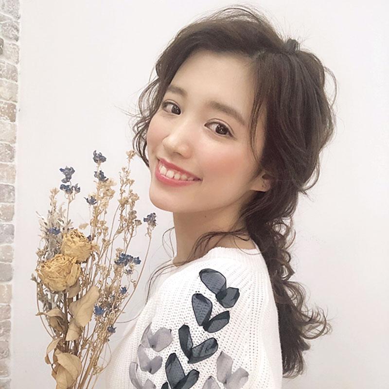 入江さんにヘアモデルをお願いするとたちまち人気ヘアになるそう。