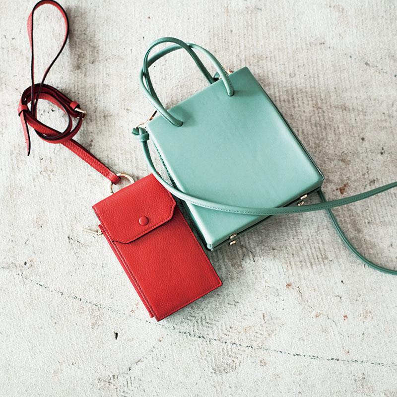 近所へのお出かけに あると便利なミニバッグ