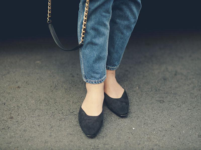 Ankle デニム...KURO 靴...Manolo Blahnik