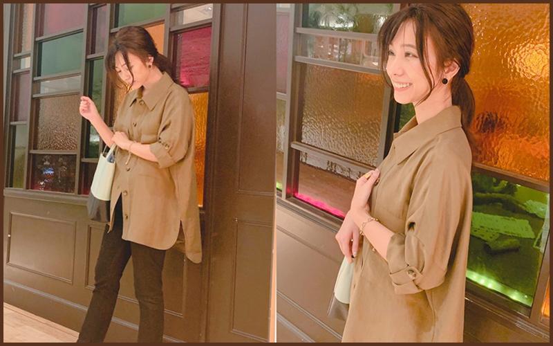 ZARAのシャツで作る【秋のキレイめカジュアルコーデ】