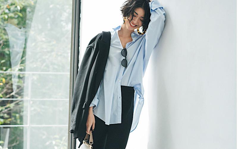 【今日の服装】「リブニットパンツ」を通勤コーデで使うなら?【アラサー女子】