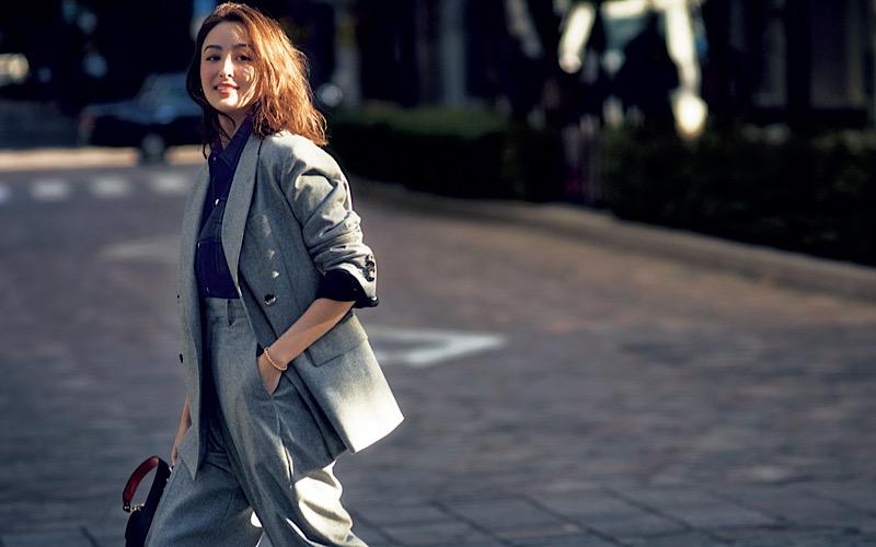 【今日の服装】「セットアップ」をカジュアルに着る正解は?【アラサー女子】