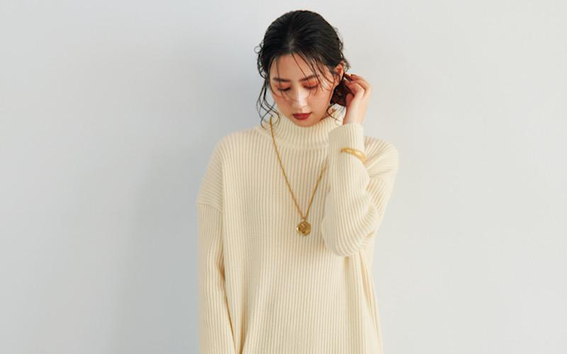 【今日の服装】ワンランク上の「ニットワンピ」着こなし術とは?【アラサー女子】