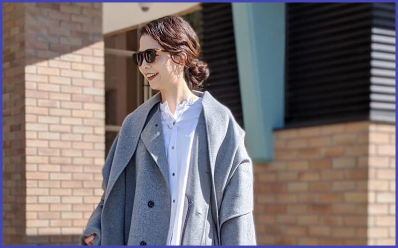 10年先まで着られるケープ型コート【オン・オフ着回しコーデあり】