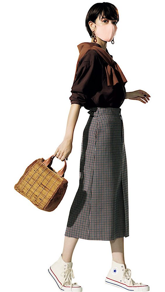 女度が高いタイトスカートは、コ