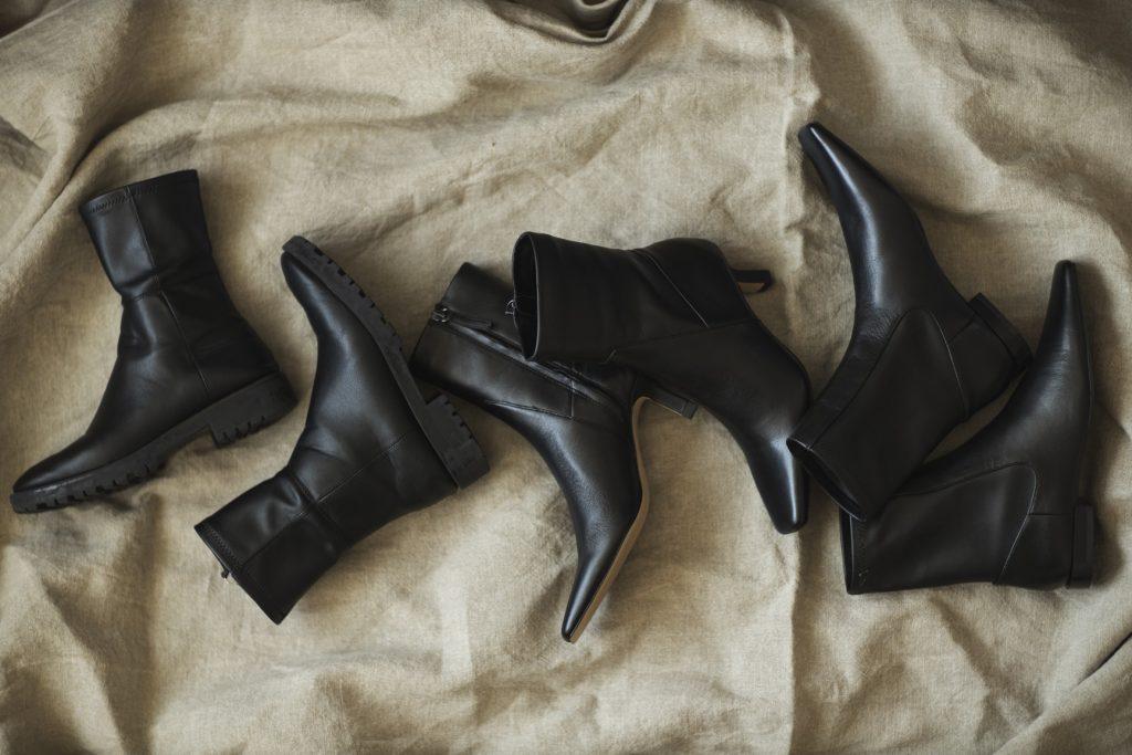【ZARA】身長154㎝&ヒールなしでもスタイル良く見える!黒ブーツ3足