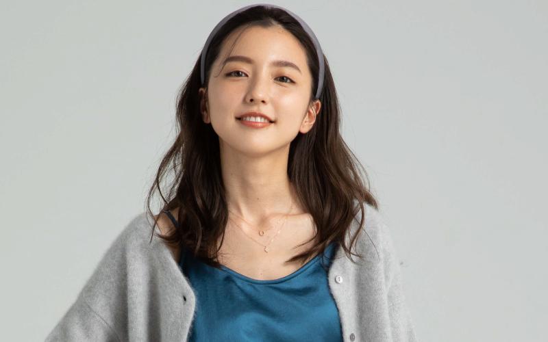 真野恵里菜さん「身長が低い人のための秋冬コーデ」【ワイドパンツ】