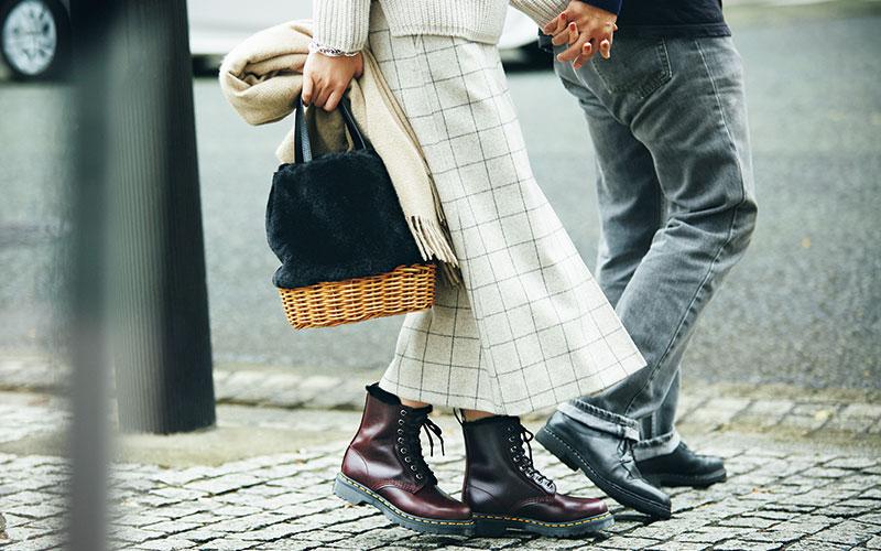 ロングスカート派のための「秋冬に合わせやすい靴」3選