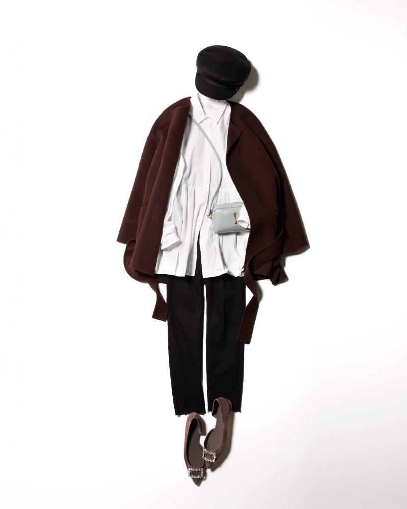 ジャケット感覚で着られるミドル