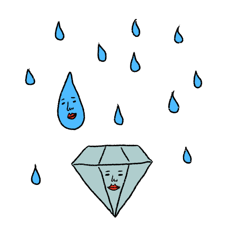 ダイヤモンド星人は基本的に変わ