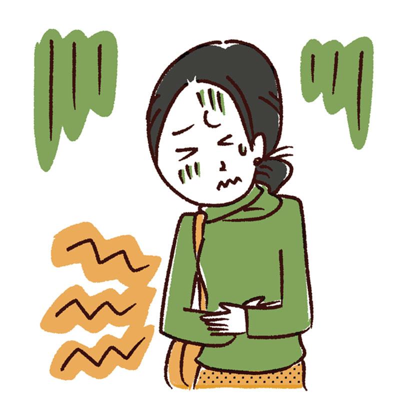 理由2.体の不調によるストレス