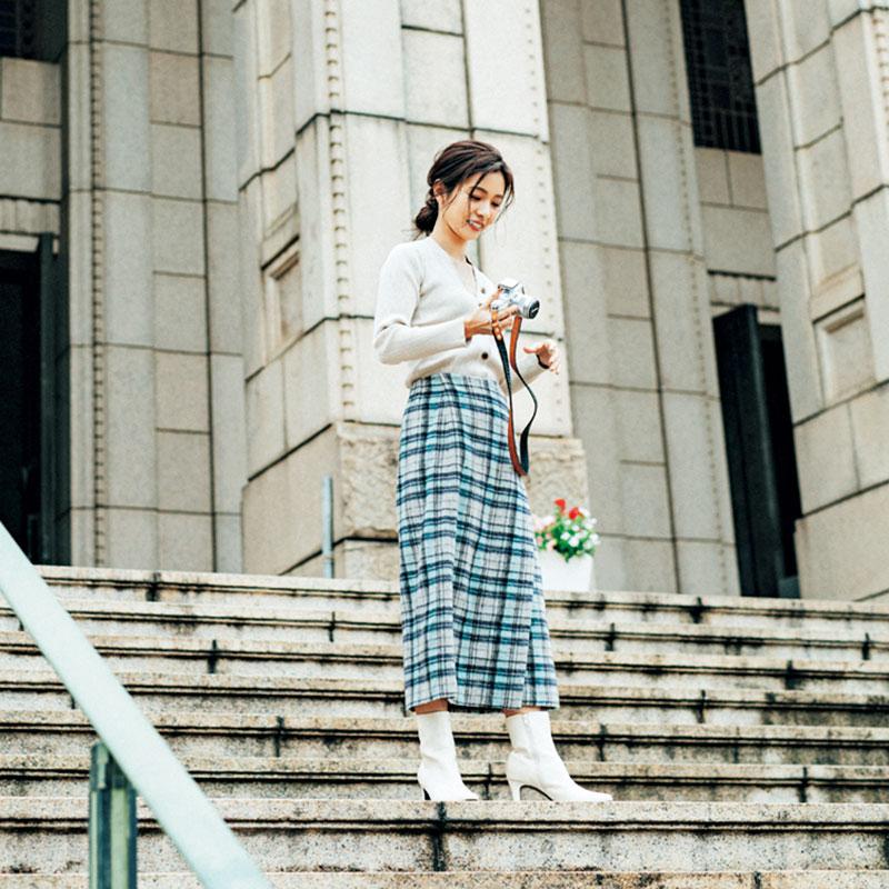 撮影/田形千紘 ヘアメーク/饗