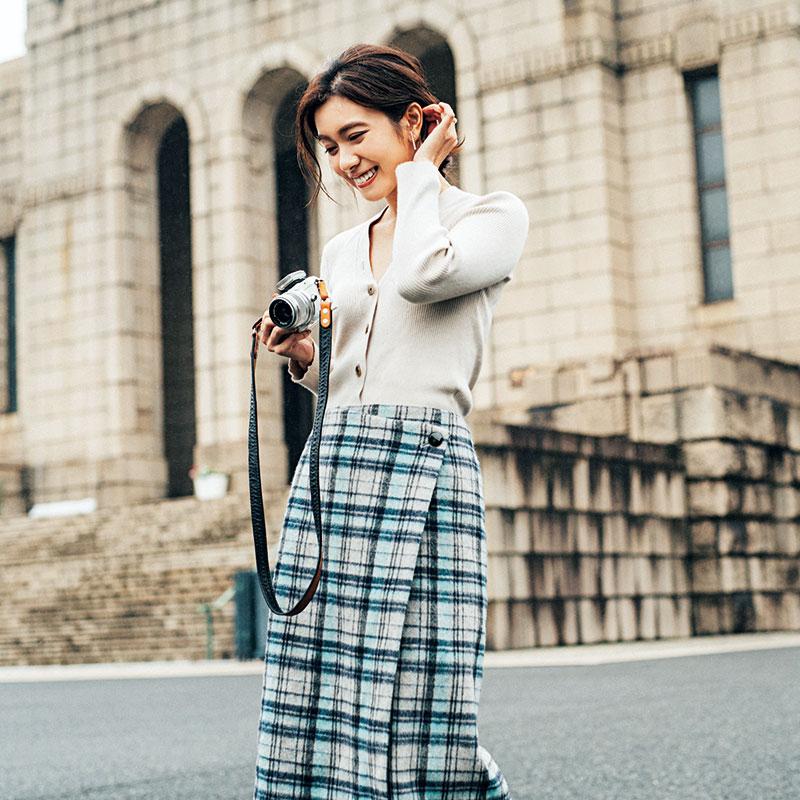 アラサー美女読者モデル、松田衣里菜さんが人気の「5つの秘密」
