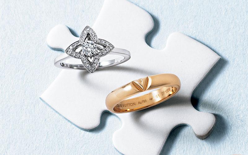 アラサー女子の憧れジュエラーの結婚指輪【ヴィトン&タサキ&グッチ】
