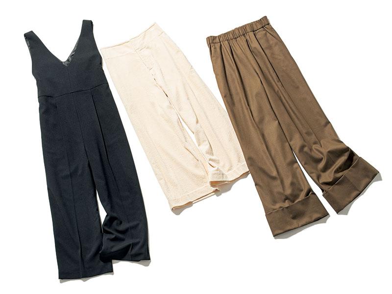 【右】折り返しパンツ 裾の折り