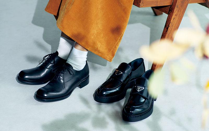 アラサー女子の「憧れブランド靴」【セリーヌ&プラダ】