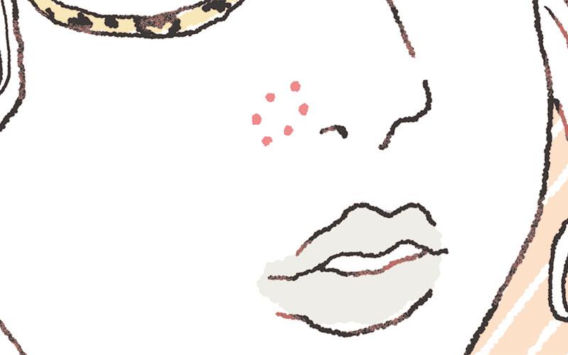 大人女子の「マスク肌荒れ」場所別解消テクニック【小鼻の横編】